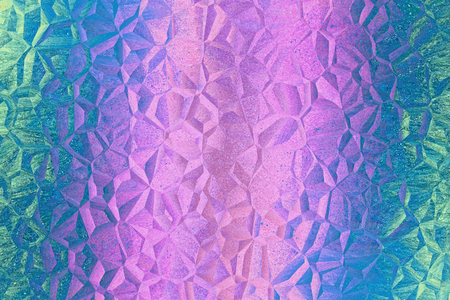 Purple and cyan mosaic pattern as abstract background.Digitally generated image.