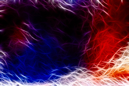 Multicolored abstract mess-up background. Digitally generated image. Stock Photo