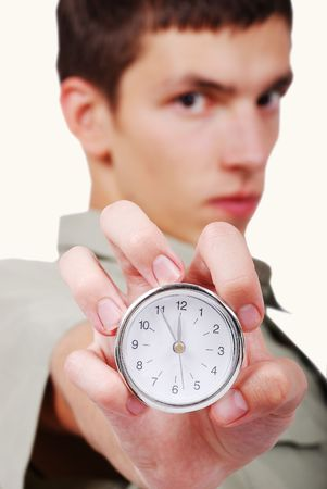 Time is up the last moment for you Stock Photo - 5235214