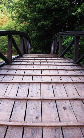 Wooden bridge Stock Photo - 5265045