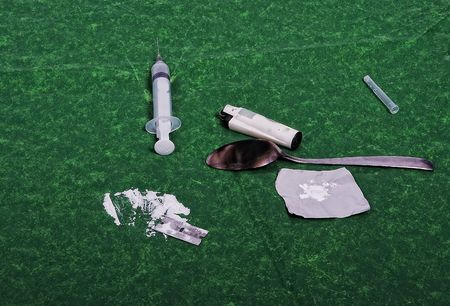 junky: Drugs addict activities and some used tools