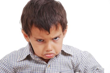 angry kid: Very very angry kid, great expression of emotion