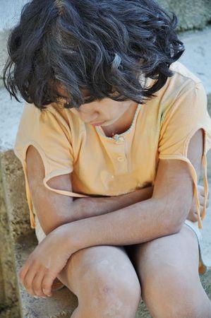 maltrato: La pobreza y la poorness en la expresi�n de los ni�os