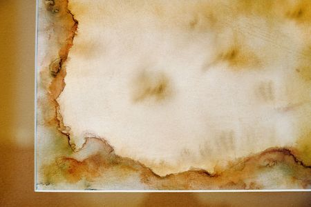 antiquarian: Very old grunge paper, great for background or your text Stock Photo