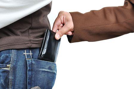 unconcerned: Pickpocketing