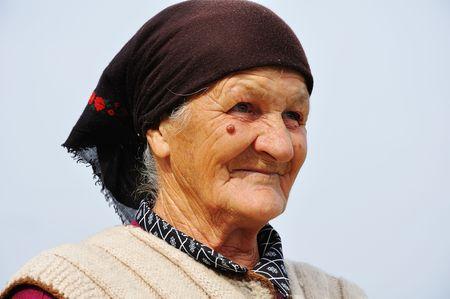 oneness: Molto vecchia donna con espressione sul viso