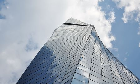Big and tall glass building photo