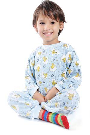 Kid in pajamas   Stock Photo - 5781943