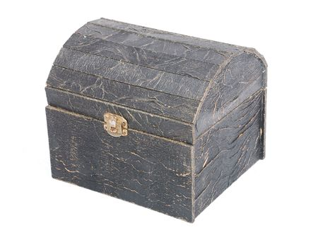 stash: An old chest isolated