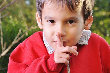 hushed: Positive boy, secret