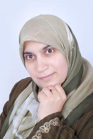 Muslim woman  Stock Photo - 5799528