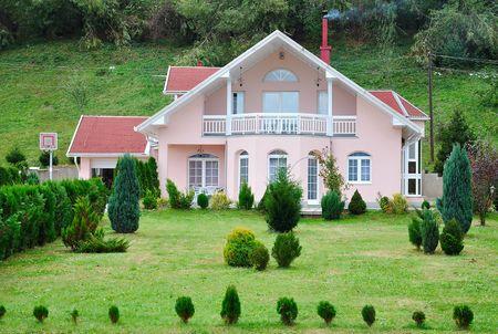 Beautiful house Stock Photo - 5870886