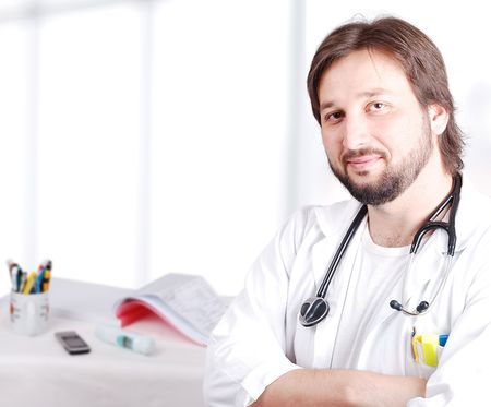 doctor in his office Stock Photo - 6012953