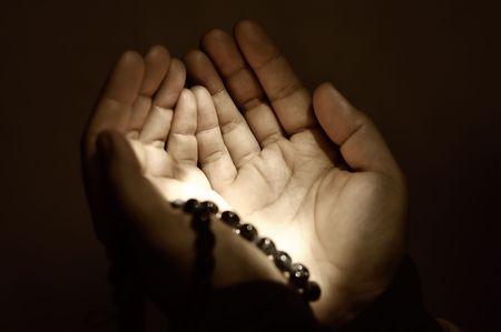 mains pri�re:  Mains de pri�res musulmanes