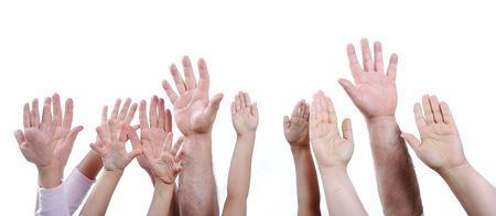 many hands Stock Photo - 6088854