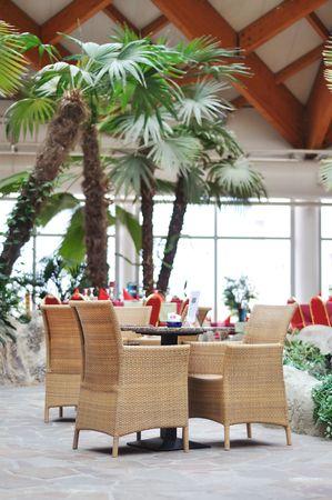 Restaurant chairs Stock Photo - 5973134