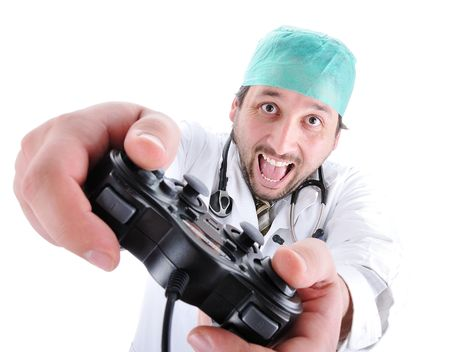 funny doctor Stock Photo - 6088847