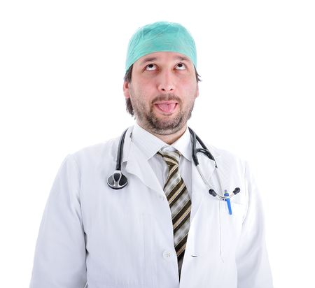 funny doctor Stock Photo - 6088849