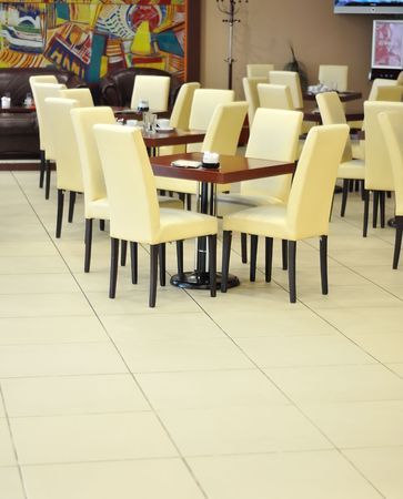 Chairs in restaurant Stock Photo - 5973111