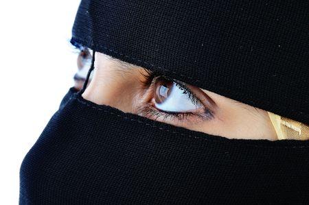 Veiled woman Stock Photo - 6051953