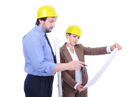 Business people on work place Stock Photo - 6105165