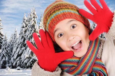 Winter happiness Stock Photo - 6160986