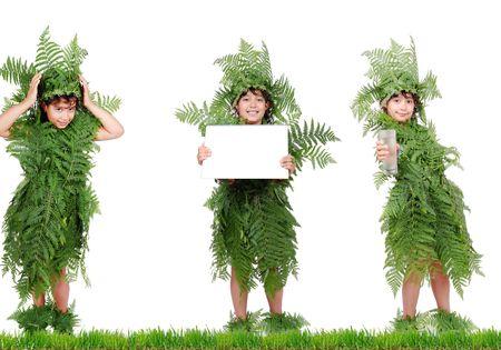 plante girl photo
