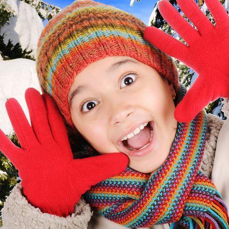 Winter happiness  photo