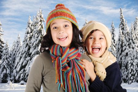 Winter happiness  Stock Photo - 6246664