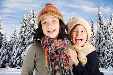Winter happiness Stock Photo - 6246664