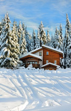 Winter beautiful scene Stock Photo - 6250922