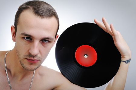 Male DJ Stock Photo - 6325738
