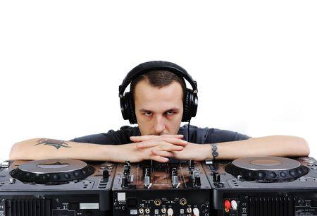 Male DJ photo