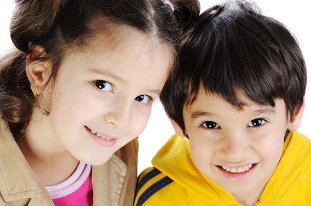 Beautiful inocent childhood photo