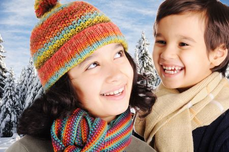 Winter happiness  Stock Photo - 6325713