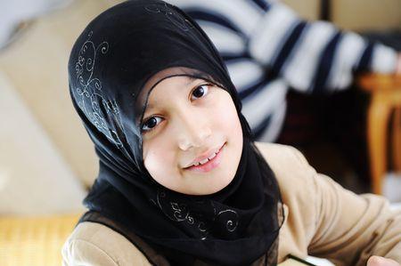 Muslim girl photo