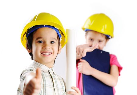 Little builders photo