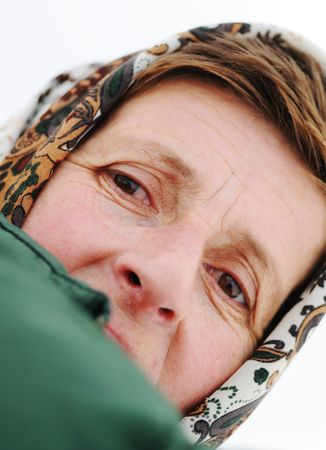 Elderly woman Stock Photo - 6516419