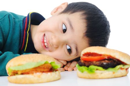Burger, fast food Stock Photo - 6516372