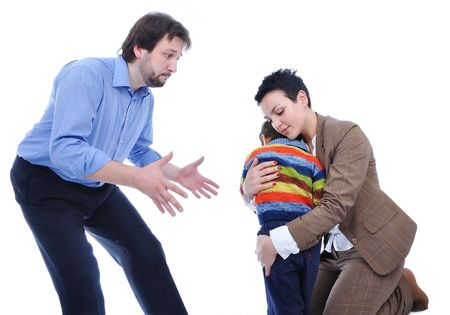 couples therapy: fighting family
