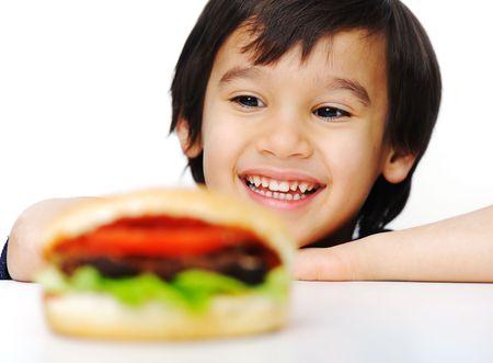 Burger, fast food Stock Photo - 6626757