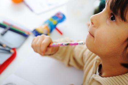 wiedererkennen: Lernprozess, h�bsch Kinder