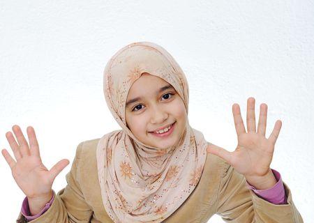 petite fille musulmane: Kid muslim