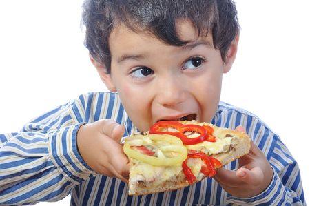 chuparse los dedos: Pizza italiana con muchos colores y ingredientes