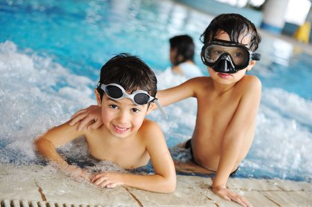 swimming kid Stock Photo - 6682283