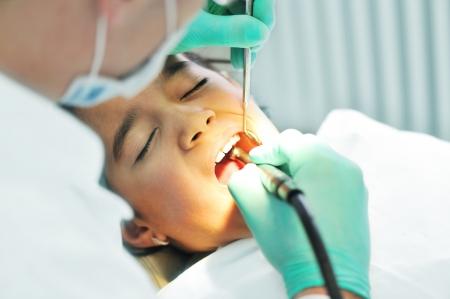 Dentist working  Stock Photo - 6780565