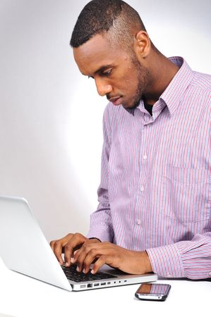 young black man Stock Photo - 6780655