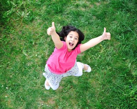 happy children in nature outdoor Stock Photo - 7012299