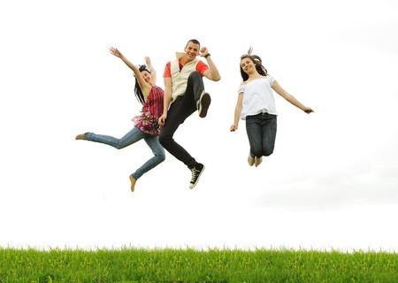 hopping: Activity outdoor, great scene Stock Photo