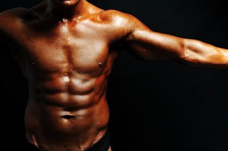 Bodybuilder strong as a rock Stock Photo - 7015470